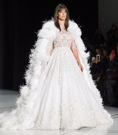 Paris Couture Fashion Week: Every Celebrity Sighting - Alessandra Ambrosio in a Ralph & Russo spring 2017 wedding dress