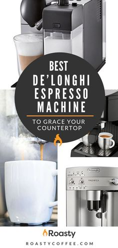 Intending to become a serious home barista? Consider in investing in an espresso machine that is worthy to grace your countertop. See our top picks for best De'Longhi espresso machine to help you get started. Coffee Maker Reviews, Best Coffee Maker, Drip Coffee Maker, Coffee Facts, Coffee Signs, Coffee Uses, Great Coffee, Craving Coffee, Coconut Oil Weight Loss