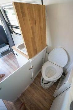 35 Creative RV Storage Ideas For A Small Bathroom Organization Small Bathroom Organization, Bathroom Storage, Bathroom Faucets, Camper Bathroom, Bathroom Layout, Bathroom Ideas, Kombi Home, Rv Storage, Caravan Storage Ideas