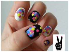 Balloons #nail #nails #nailart