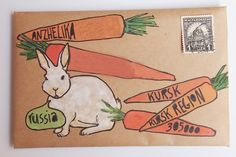 White rabbit snail mail
