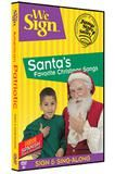 """Checkout the """"We Sign Santa's Favorite Christmas Songs DVD"""" product"""