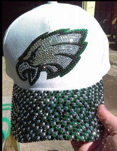 2d6252893e4 Bling Eagles Baseball Cap NFL