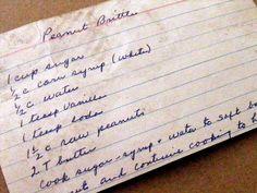 Grandmas Recipe