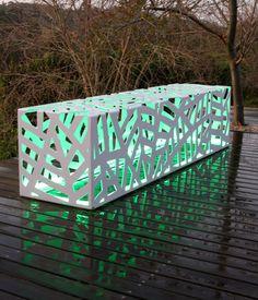 Organic bench / Obbligato contemporary furniture