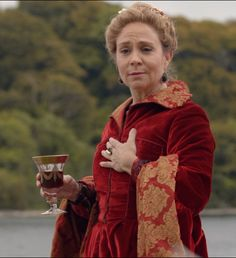 "Catherine de Medici - Reign ""Coronation"" - Season 2, Episode 3 Reign Fashion, Fashion Tv, Reign Catherine, Reims Cathedral, Megan Follows, Reign Dresses, Renaissance Era, Mary Queen Of Scots, Canadian Actresses"