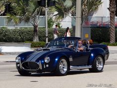 Blue Shelby AC Cobra