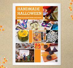 Free printable holiday DIY craft/activity/food books