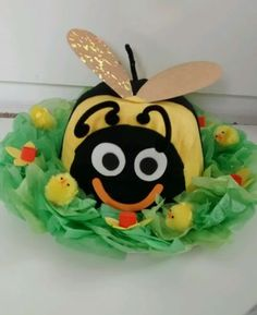 Cute Bumble Bee Handmade Easter Bonnet hat boys / girls in Home, Furniture & DIY, Celebrations & Occasions, Other Celebrations & Occasions | eBay