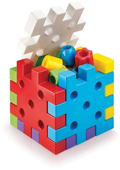 Quercetti Geokid Daisy Maxi Baby Toys Peg Board