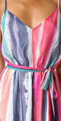 BB Dakota Jack by BB Dakota Joyner Colorfield Printed Maxi Dress | SHOPBOP