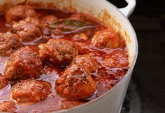 LOVE this meatball recipe! Full of flavor and very moist. I make a batch once a week for a quick lunch or dinner good for a meatball sub or over spaghetti. Easy to store and reheats great!