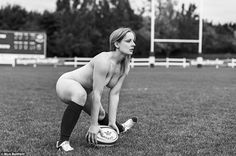 An Oxford University scrum half prepares to pass the ball, in one of the shots for the tea...