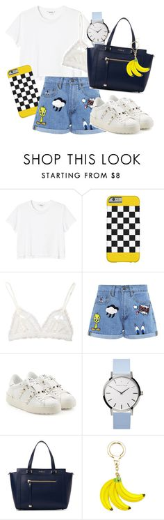 """""""Sans titre #779"""" by salma-675 ❤ liked on Polyvore featuring Monki, TAXI, Hanky Panky, Paul & Joe Sister, Valentino, Furla and Kate Spade"""
