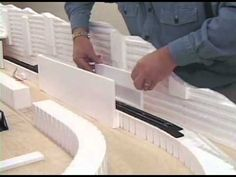 Making a Tunnel - Model Layout Ho Model Trains, Ho Trains, Forte Apache, Escala Ho, Model Training, Electric Train Sets, Standard Gauge, Modelista, Model Train Layouts