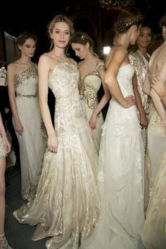 what a stunning collection Studded Hearts Zuhair Murad Couture Spring 2013 Backstage 11