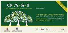 Si inaugura oggi 24 aprile alle 11 alla Fiera del Levante OASI, il Salone dell'Olivo, Ambiente, Salute e Innovazione. A tagliare il nastro l'assessore alle Risorse agroalimentari della...