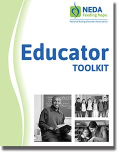Have you seen the NEDA Educator Toolkit? A great resource for educators, staff who work in a school setting or those who work with youth outside of school understand how to support students and young people who may be affected by #eatingdisorders