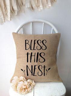 "18"" Burlap Pillow Cover! 6 Options! | Jane"