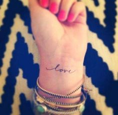 Some ideas for tattoos for the hopeless romantic side of you.