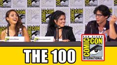 THE 100 Comic Con 2017 Panel - News, Season 5 & Highlights - YouTube