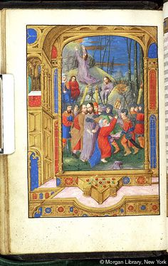 Book of Hours, MS M.390 fol. 19v - Images from Medieval and Renaissance Manuscripts - The Morgan Library & Museum