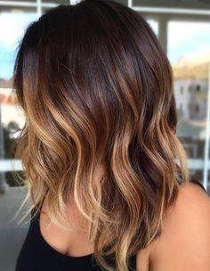 Best hair colors and haircut trends including dark brown and balayage highlights for women. Check out all these best trends of hair colors in 2017 - 2018.
