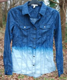 Ombre Denim Shirt, ombre hair?