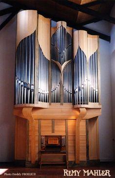 Landau - St Elisabeth Orgue neuf - 1997 - Remy Mahler Facteur d' Orgue