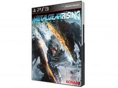 Metal Gear Rising: Revengeance p/ PS3 - Konami
