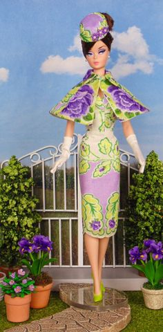 Lavender & Lime for Silkstone Barbies by HankieChic on Etsy