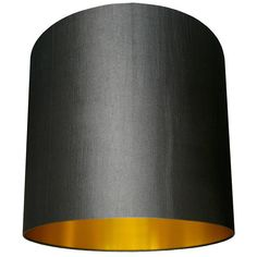 Gold lined lampshades available in sumptuous silks, smooth cottons and warm linens all paired beautifully with our ambient metallic gold foil lining. Blue Lamp Shade, Drum Shade, Lamp Shades, Lampshade Designs, Fabric Lampshade, Free Fabric Samples, Free Fabric Swatches, Yellow Fabric, Grey Fabric