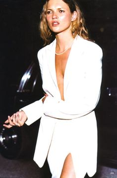 Allure US, September 1997 Photographer : Tom MunroModel : Kate Moss