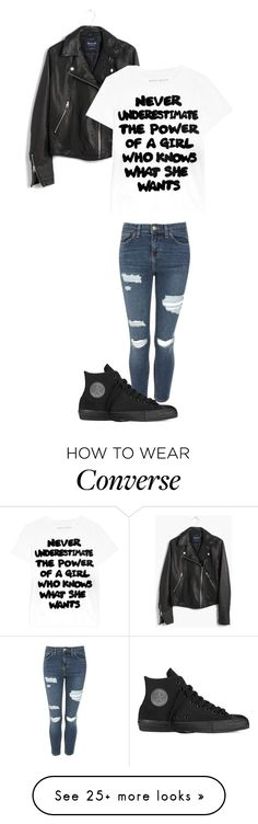 """Untitled #159"" by sweeney-1 on Polyvore featuring Topshop, Madewell, Alice + Olivia and Converse"