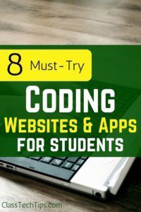 8 Must Try Coding Websites and Apps for students #edtech #STEM #coding