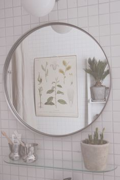 Bath, plants, grey - BY JO WITH LOVE. Mini bathroom makeover.
