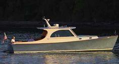 Hinckley picnic boat Diver969