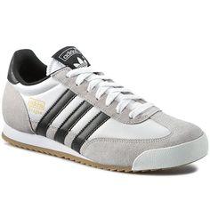 Sneakersy adidas - Dragon S79003  Ftwwht/Cblack/Goldmt