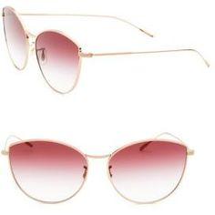 2ec8905e19 Oliver Peoples Rayette 60MM Cat-Eye Sunglasses Cat Eye Sunglasses