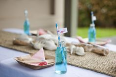 Anyone know where to get these glass jars?? mermaid table