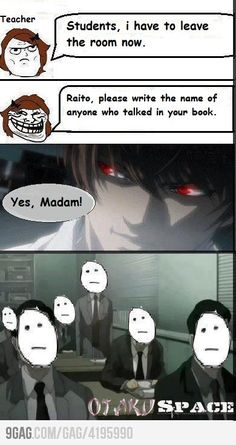 Death Note Lol