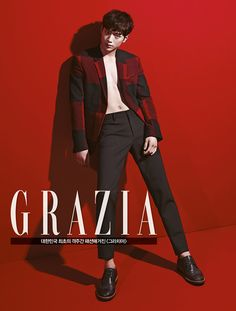 Seo Kang Joon Is Proud Of His Body In Grazia's July 2014 Issue