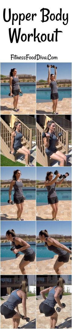Circuit Training to tone and strengthen the Upper Body at Home or in the Gym.