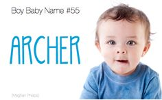 Baby name: Archer