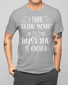 I Think Being Your Husband Is Enough Camping - Heather camping printables, easy camping crafts, biker gifts ideas #dishscrubbers #nylonnetscrubbies #airstream, dried orange slices, yule decorations, scandinavian christmas Volleyball Problems, Volleyball Shorts, Play Volleyball, Camping Coffee, Yule Decorations, Camping Crafts, Orange Slices, Scandinavian Christmas, Dog Shirt