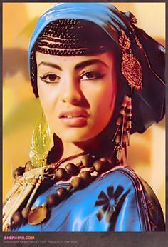 Egyptian performing artist and actor Sherihan