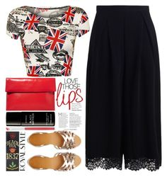 """""""GB"""" by grozdana-v ❤ liked on Polyvore featuring WearAll, ASOS, Zimmermann, Marni, Byredo, New Look, TWG Tea Company and Natalie B"""