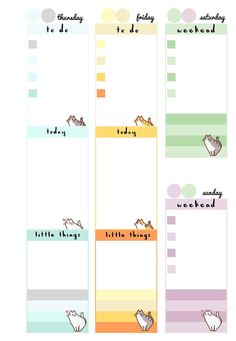 CATS A5   DIVIDER   WEEK ON 2 PAGES PLAIN   WEEK ON 2 PAGES DECORATED   NOTES PAGE (LEFT + RIGHT)   ^_^   p.s. a6 will come in ...
