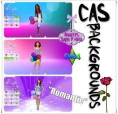 "Annett's Sims 4 Welt: CAS Backgrounds ""Romantic"""