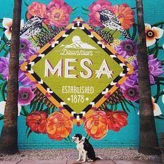 Mural in Downtown Mesa, Arizona